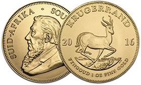 Krugerrand Goldmünze 1oz.