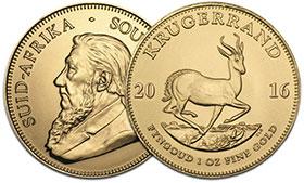 Krügerrand Goldmünzen Verkaufen